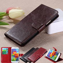 Leather Phone Case For Samsung Galaxy S2 Case Samsung Galaxy S2 Case i9100 SII coque Cover Leather Flip Wallet Stand Phone(China)
