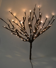 "LED Battery Branch Light 20"" 100LED Christmas branch light wedding table decoration branch twig light(China)"