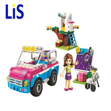 Lis Friends 10555 Olivias Expeditions Auto Car Toys DIY Building Brick Toys Girls Gift Compatible Lepin 41116