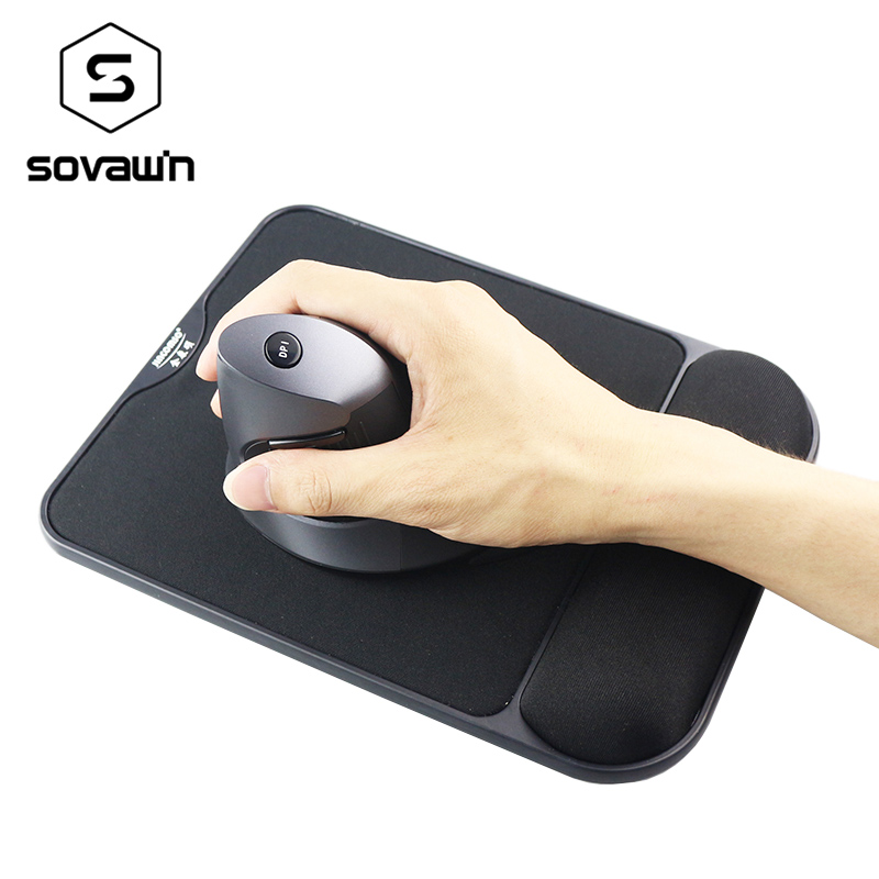 Memory Foam Nonslip Mouse Pad with Wrist Rest Support Mat For Computer PC Laptop