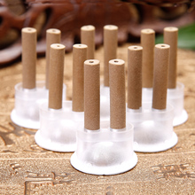 Hot!2017 New 60pcs/box Moxibustion Sticker Double Moxa Sticks Tube Paste Elegant Packing Self-adhesive acupuncture points(China)