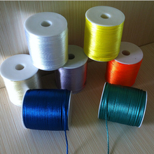 YUMUZ 2mm Satin Nylon Cord Knotting cord Jewelery supplies For Necklace Jewelry Crafts 100 Yards