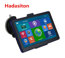 Hot 7 inch Capacitive screen SAT NAV Car GPS Navigation CPU800M 8GB+FM transmitter+Free new Maps(China)