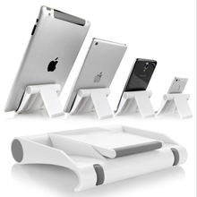 wholesale Colorful Tablet PC Stands Mobile Phone Stents Multi-Angle Adjustment Holder for All ipad holder Creative gift