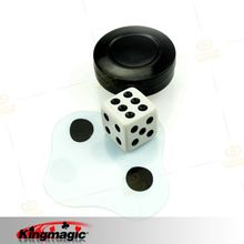 Flattened Dice magic dice close up magic magic props Free shipping