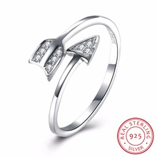 Real 925 sterling silver accessories inlaid zircon bow ring opening silver ball factory direct national wind