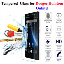 Buy 2.5D 9H Tempered Doogee X5 X6 X5 Max F7 Pro Oukitel K4000 Pro Homtom HT3 HT7 Pro HT17 Screen Protector Glass Film for $1.09 in AliExpress store
