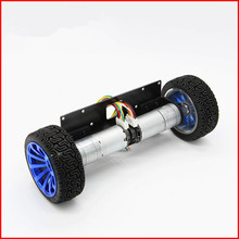 25GA370 Motor with encoder Balanced car base  two rounds for balance toy car Two wheel self-balancing car high power high torque
