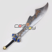 "59"" Dynasty Warriors Xiahou Dun/Hsiahou Tun Big Sword PVC Replica Cosplay Prop -0758"