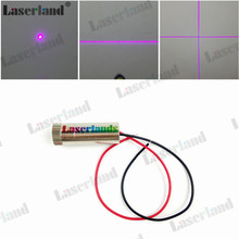 12*35mm 405nm Dot Line Cross 5mW-10mW 20mW 50mW 100mW 150mW Violet/Blue Laser Diode Module Focusable(China)