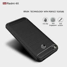 Buy Xiaomi Redmi 4X Note 4 Pro 4A Case Redmi Note 4X Pro Luxury Brushed Case Soft Hybrid TPU Silicon Carbon Fiber Back Cover for $2.14 in AliExpress store