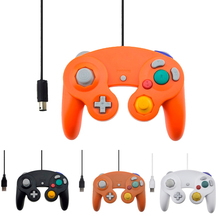 Wired Controller  for Nintendo Wii Vibration Shock Joypad Joystick For Gamecube NGC GC for PC MAC Computer Controle Accessories