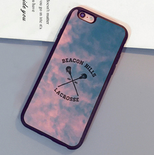 Beacon Hills Cyclones Teen Wolf  Printed Mobile Phone Cases For iPhone 6 6S Plus 7 7 Plus 5 5S 5C SE 4S Soft Rubber Cover Shell