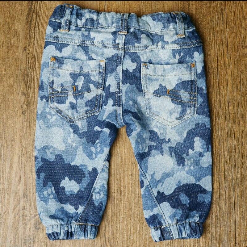 HSIN1701014 (2)Baby Denim Jeans Pants Warm Soft Leggings Boys Girsl Newborn Bebe Harem Trousers Infant Toddler Blue Pantalones Children Clothes