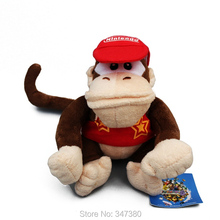 Super Mario Bros Diddy Kong Plush Toys Stuffed Dolls Kids Toys15cm