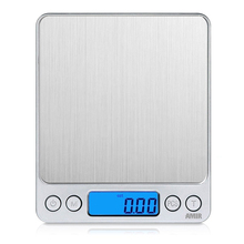 Buy 500g x 0.01g Portable Mini Electronic Digital Scales Pocket Case Postal Kitchen Jewelry Weight Balanca Digital Scale 2 Tray for $11.19 in AliExpress store