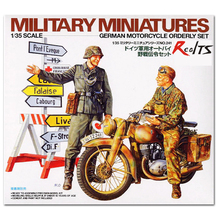 RealTS Tamiya 35241 German Motorcycle Orderly Set 1/35 scale kit
