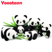 20cm lovely Panda plush toys kids Stuffed doll high quality(China)