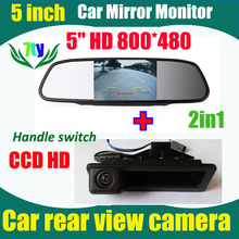 "5"" car monitor + car rear view parking camera for BMW X6 X5 335I 320I 330I X1 E82 E88 E84 E90 E91 E92 E93 E60 E61 E70 E71 E72"