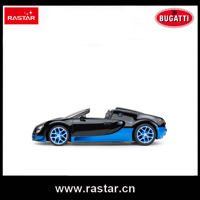 Rastar Licensed Bugatti 1:14 China online shop powerful electric USB charge cable remote control cars for sale 70460(China)