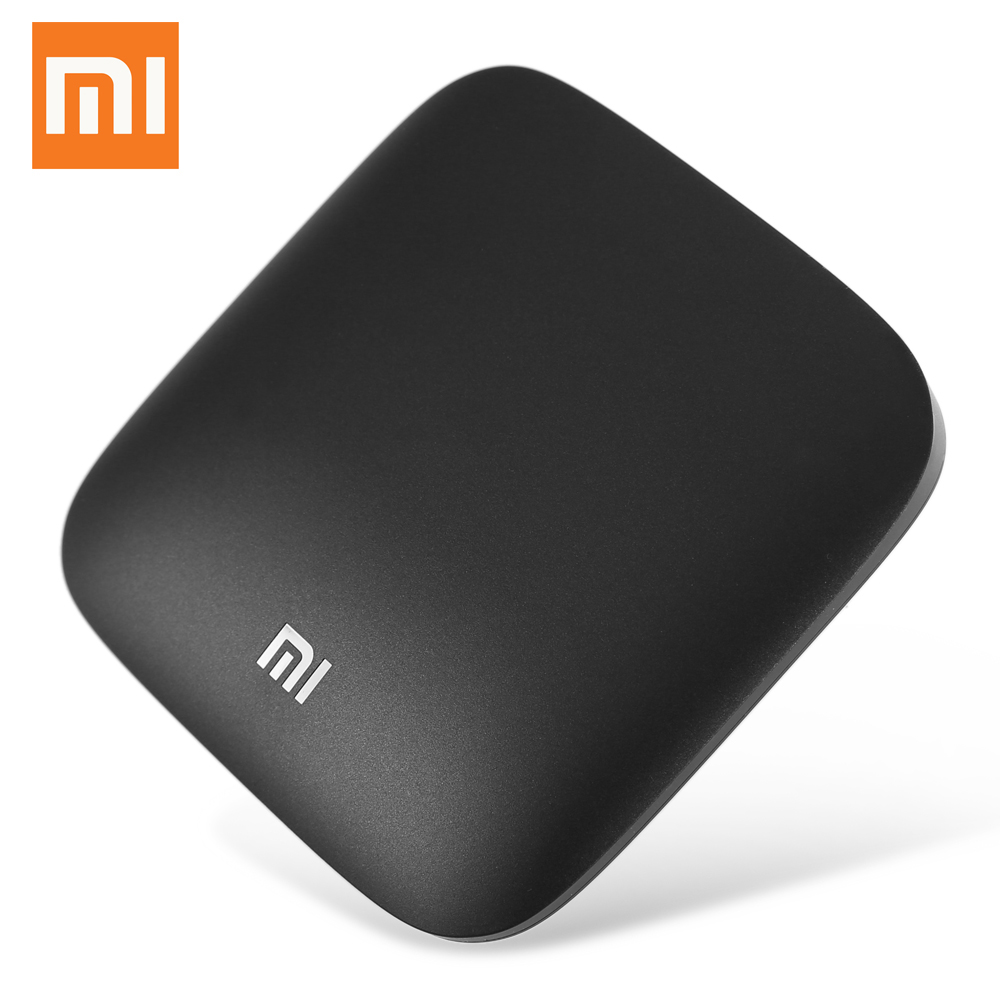Wholesale 5pcs/Lot Original Xiaomi Mi 3S TV Box 4K 64bit Android 6.0 5G WIFI Quad Core Amlogic S905X Dolby DTS HDMI Set Top Box