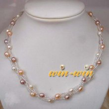 FREE SHIPPING Fashion FW Pearl Necklace Girls'/Women's/Female's Jewellery Cheap Accessory on Sale!!!