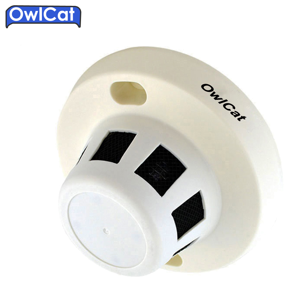 OwlCat Full HD 1080P 2.0mp Indoor AHD-H 3.6mm lens CCTV Video Surveillance AHD Camera Smoke type Security camera<br>