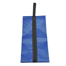 Waterproof Travel Outdoor Home Tote Toiletries Laundry Shoe Pouch Storage Bag blue