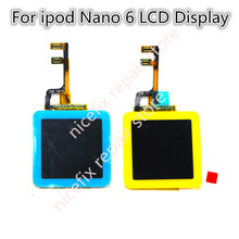 For Apple iPod nano 6th 6 6G LCD Display+Touch Screen Digitizer Assembly Replacement With free tools(China)
