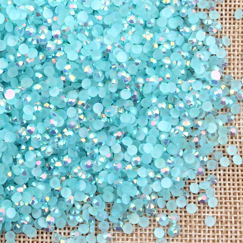 20g gems 4mm / 6mm diamond flat back bottom crystal acrylic gemstone nail art Sequins Garment Clothing scrapbooking shakes stone