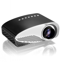 Latest LED Mini   Projector Home Multimedia Cinema LED Projectors Support 1080P Decoding with AV TV VGA USB Dual HDMI SD