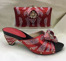 Wine Fashion African Matching Shoes And Bags Set With Plenty Stones And Italy Designer Shoes And Bag Shoes With Matching Bag