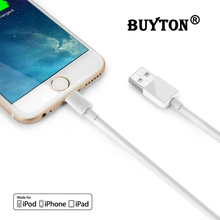 1M 2M 3M USB Cable For iPhone 5 5s 6 6S plus SE For iPad mini Air 8 pin Adapter Fast Charge Charging Cable Cords