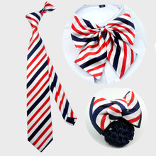 Korean fashion red blue bow tie bow tie male female 8cm bank supporting the hotel hotel uniform