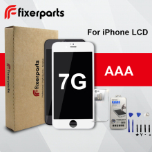 Fixerparts For Apple iPhone 7 LCD AAA Grade Tester Strong Frame Digitizer Assembly Replacement Pantalla Free Tools(China)