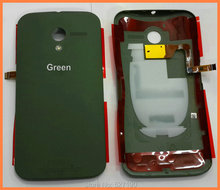 Green Original Rear Housing Case Door Battery Back Cover With Flash Flex Cable For Motorola Moto X XT1058 XT1060 XT1055 XT1053
