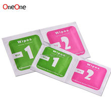 OneOne Dry Wipes+Wet Wipes+Dust Absorber Sticker Cleaning Cloth For Tempered Glass Screen Protector Camera LCD wholesale 5000set