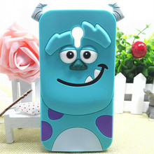 3D Cartoon Monsters University Sulley Tiger  2 Soft Silicone Case Cover For Motorola Moto G (Gen 3) Moto G3