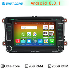 4G LTE Android 6.0 Octa Core 2GB RAM 32GB ROM Car DVD for Volkswagen VW T5 Touran Beetle EOS Bora Magotan Sagitar Radio GPS BT