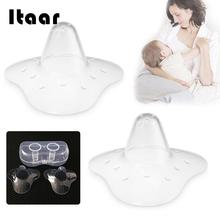 Buy 2 Pcs Triangular Nipple Cover Transparent Silicone Durable Breast Protector Washable Reusable