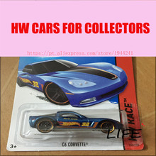 Toy cars Hot Wheels 1:64 C6 Corvette Car Models Metal Diecast Cars Collection Kids Toys Vehicle For Children Juguetes 17