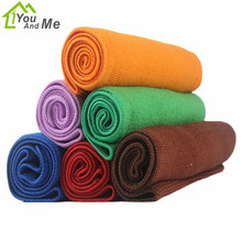 You And Me 33*75CM Microfiber Dishcloth Soft Cleaning Absorbant Cloth Rag Super Water Car Wash Towel Dishrag Dish Towel Napery