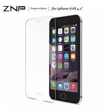 Buy ZNP 2.5D 0.25mm 9H Premium Tempered Glass iPhone X 6 7 8 Plus Screen Protector Film iPhone 7 6 X 9H Protective Glass for $1.46 in AliExpress store