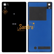 Buy New brand Z2 Rear Glass Back Cover HH SONY Xperia Z2 Back Glass L50W D6503 Battery Housing sticker 1pcs free for $3.96 in AliExpress store