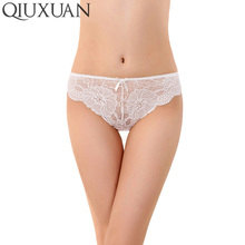 Buy QIUXUAN Women's Panties Underwear Sexy Lace Underpants Seamless Panties Briefs Woman Pants Knickers High Quality