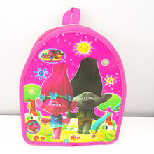 1pc 29*23*13cm Trolls PP Bag SchoolBag Daypack Birthday Party supplies Gift Party Favors For Kids Boy Girl(China)