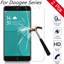 Buy 2 pcs Doogee x5 max x6 x7 x9 pro y6 y100 y300 ht6 ht7 ht17 Homtom ht17 Tempered Glass Screen protector 2.5D Guard Film Case for $2.47 in AliExpress store