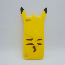 3D Cartoon Pocket Monsters Pikachu Soft Silicone Case For Apple iPod touch 5 6 itouch 5 itouch 6 Rubber Fundas Cover Phone Cases