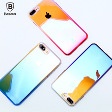 "BASEUS Glaze Case for iPhone 7 Plus 5.5"" Gradual Color Changing Hard Phone Cover for iPhone 7 Plus 5.5"""
