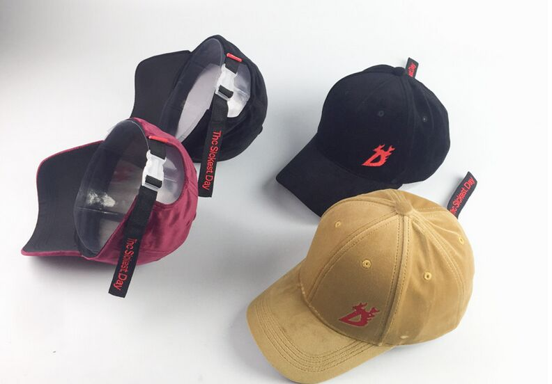 10pcs free shipping/2017-A057 Velvet character pattern   card buckle adjust leisure hat men women baseball cap wholesale<br><br>Aliexpress